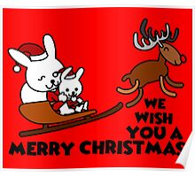 merry christmas - we wish you a merry christmas Poster