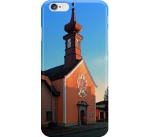 The cemetary church of Aigen I | architectural photography iPhone Case/Skin