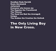 Carter USM - The Only Living Boy in New Cross Line-Up Unisex T-Shirt