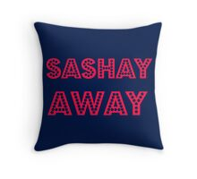 Sashay Away Throw Pillow