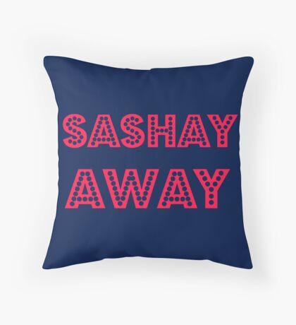 Sashay Away Throw Pillow