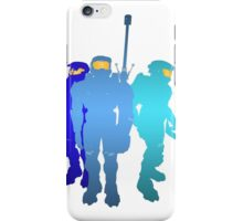 Blue Team iPhone Case/Skin