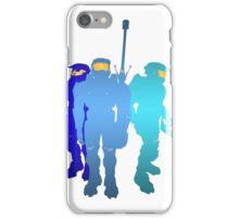 Blue Team iPhone Case/Skin