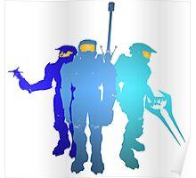 Blue Team Poster