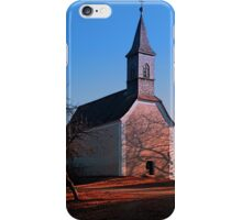 The village church of Hollerberg II | architectural photography iPhone Case/Skin