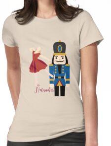 Clara & Nutcracker Womens Fitted T-Shirt