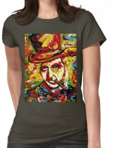 Willy cigar Womens Fitted T-Shirt