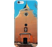 The village church of Berg bei Rohrbach II | architectural photography iPhone Case/Skin