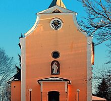 The village church of Berg bei Rohrbach II   architectural photography by Patrick Jobst