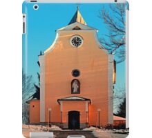 The village church of Berg bei Rohrbach II | architectural photography iPad Case/Skin