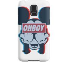 Stereoscopic ohboy Samsung Galaxy Case/Skin