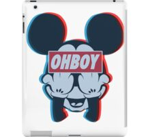 Stereoscopic ohboy iPad Case/Skin
