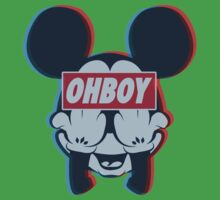 Stereoscopic ohboy Kids Clothes