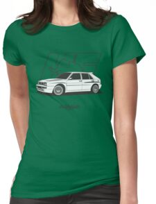 Lancia Delta HF Integrale Evo 2 Womens Fitted T-Shirt