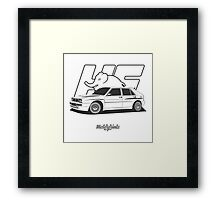 Lancia Delta HF Integrale Evo 2 Framed Print