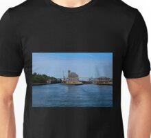 Operations Administrations Building for the Soo Locks Unisex T-Shirt