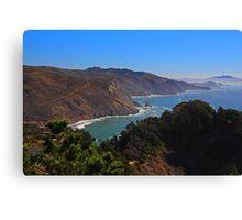 Overlooking Marin Headlands Canvas Print