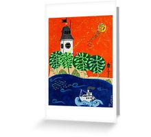 Fortress Greeting Card