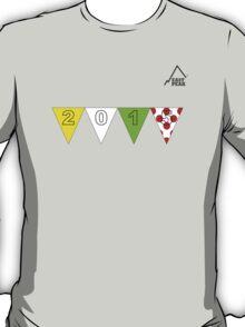 East Peak Apparel - 2015 Tour de France Peaks T-Shirt T-Shirt