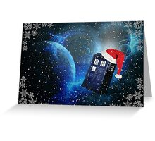 christmas in space Greeting Card