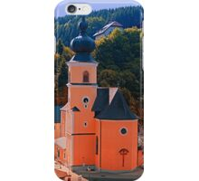 The village church of Helfenberg III | architectural photography iPhone Case/Skin