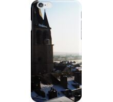 Snowy rooftops iPhone Case/Skin