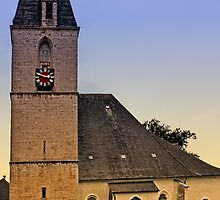 The village church of Kematen a.d. Krems I | architectural photography by Patrick Jobst