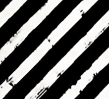 Off-White Brushed Diagonals Stripe v1 Sticker