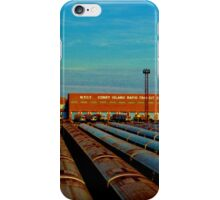 End of the Line (Color Panorama) iPhone Case/Skin
