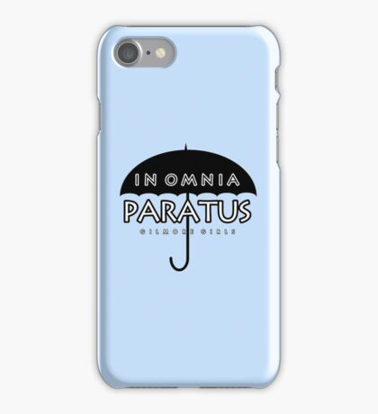 Gilmore Girls - In Omnia Paratus iPhone Case/Skin