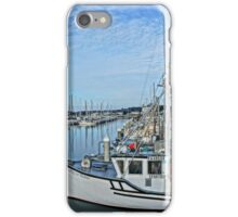 Fishing Boats Reflection  iPhone Case/Skin