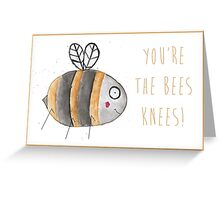Bee Congratulations Greetings Card  Greeting Card