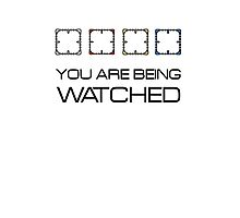 Person of interest - You are being watched Photographic Print