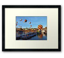 2016 Lake Havasu Balloon Festival Framed Print