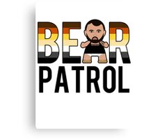 Bear Patrol Canvas Print