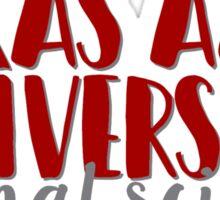 Texas A&M University - Animal Science Sticker