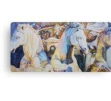 Neptune's Sea Horses, Florence Canvas Print