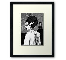 Bride of Frankenstein Framed Print