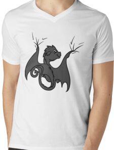 Dragon Rider Mens V-Neck T-Shirt