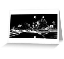 manjimup by night Greeting Card