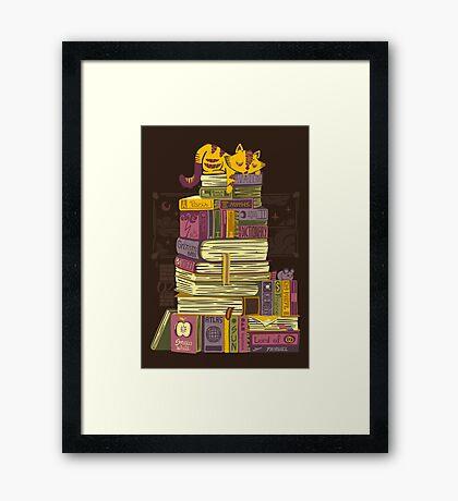 Sleeping On My Treasure Framed Print
