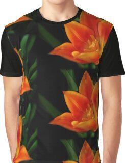 Orange Flower (full view) Graphic T-Shirt