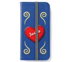Show Your Love For Jacob iPhone Wallet/Case/Skin