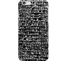 Ancient Egyptian Hieroglyphics iPhone Case/Skin