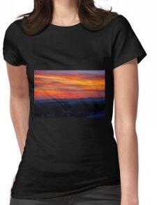 Gotta Miss Alberta Sunsets Womens Fitted T-Shirt