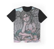 Space Angel Graphic T-Shirt