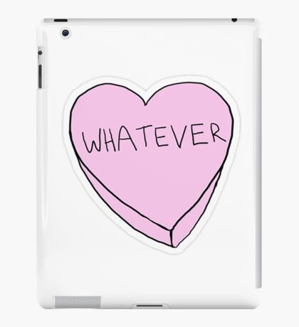 WHATEVER funny tumblr merch! iPad Case/Skin