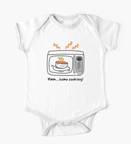 Microwave Home Cooking One Piece - Short Sleeve