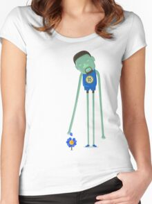 Kevin Durant the Warrior Women's Fitted Scoop T-Shirt