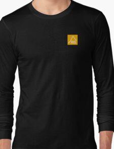 East Peak Apparel - Gold Square logo - Tshirt Long Sleeve T-Shirt